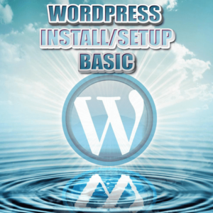 WordPress-Basic Install